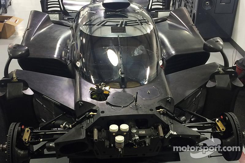 Ligier JS P2 Honda di Michael Shank Racing workshops