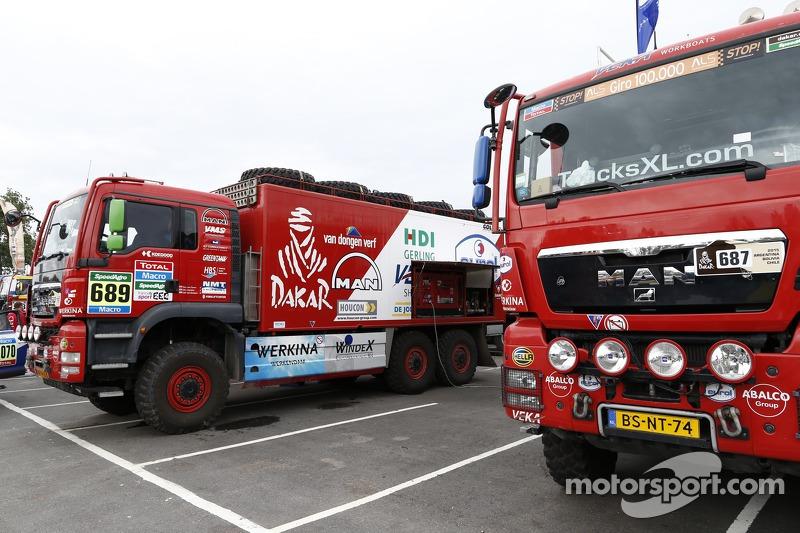 Truck-Vorbereitungen
