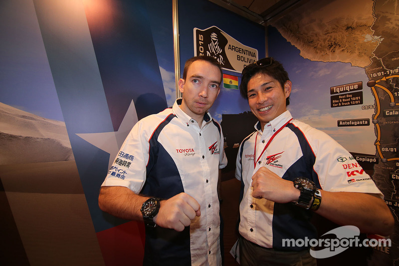 Nicolas Gibon und Akira Miura