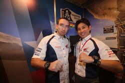 Nicolas Gibon ve Akira Miura