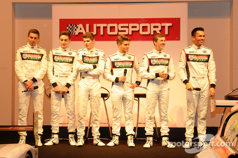 McLaren Autosport Young driver finalists
