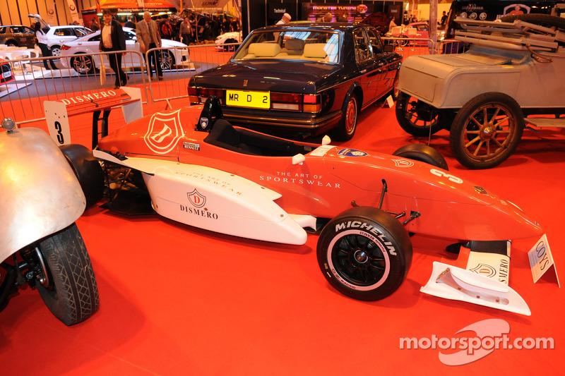 Der Formel Renault 2.000, mit dem Kimi Räikkönen zum Titel gefahren ist