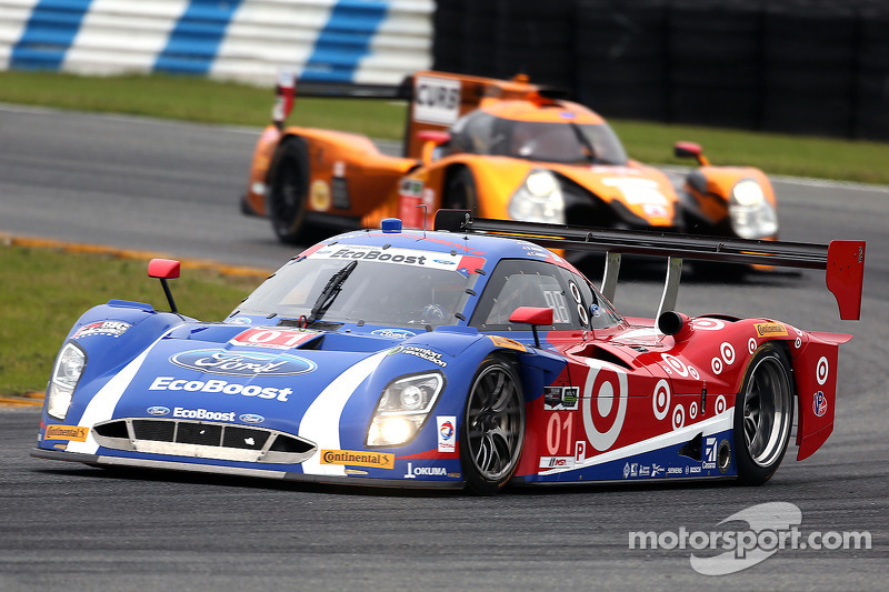 #01 Chip Ganassi Racing Ford Riley: Scott Pruett, Joey Hand, Charlie Kimball, Sage Karam