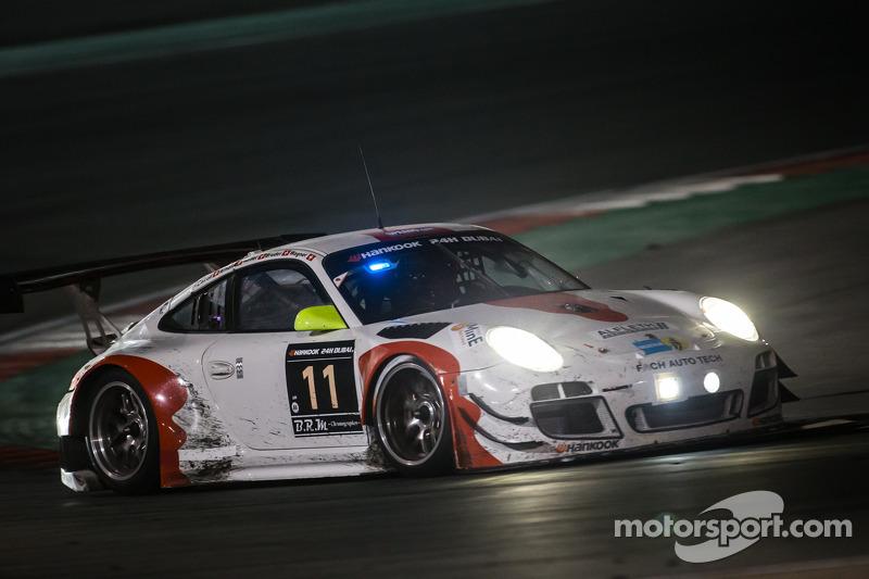 #11 Fach Auto Tech Porsche 997 GT3 R: Marcel Wagner, Heinz Bruder, Erwin Keller, Heinz Arnold, Matteo Cairoli