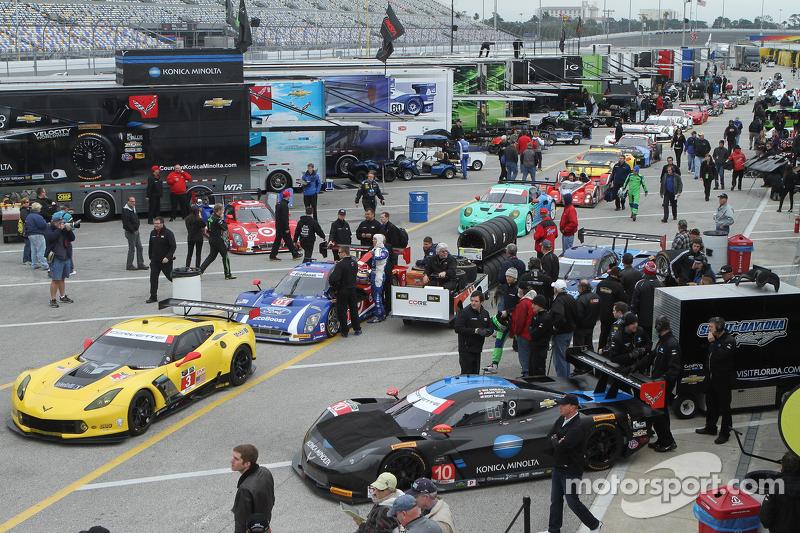 Cars ready для testing