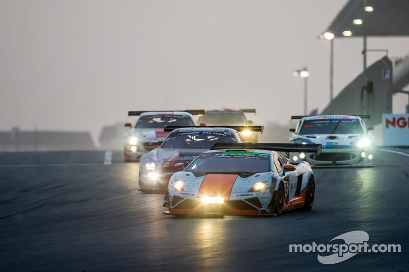 #69 Gulf Racing UK Lamborghini Gallardo LP560 GT3: Roald Goethe, Stuart Hall, Frédéric Fatien, Jamie