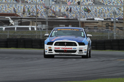 #57 Racers Edge Motorsports Mustang Boss 302R: Michael Lira, Timmy Rivers
