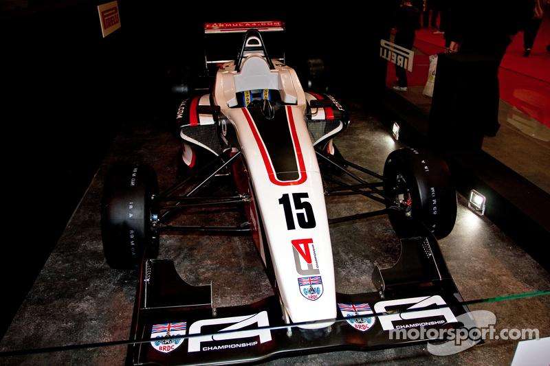 BRDC Formel-4-Auto