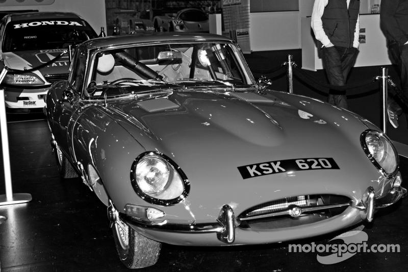 Klassischer Jaguar E-Type