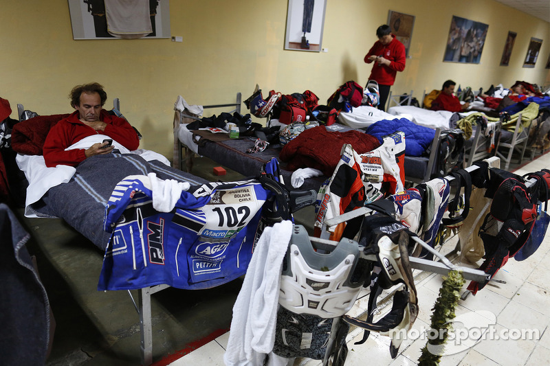 Riders sleeping quarters