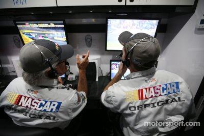 Tecnología de pit road de NASCAR