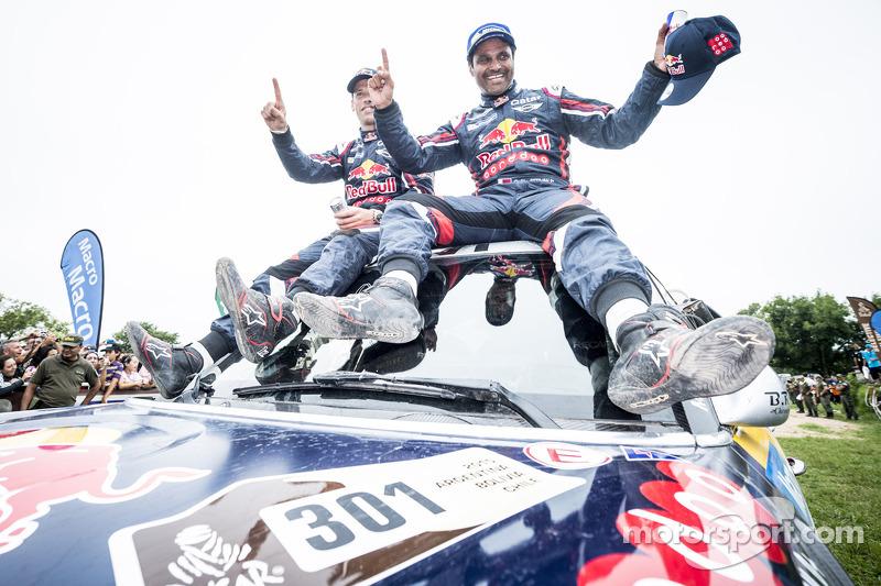 Auto-Gesamtsieger #301 Mini: Nasser Al-Attiyah, Mathieu Baumel