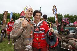 Laia Sanz, dan Rosa Romero