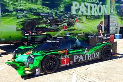 Презентация раскраски HPD ARX-04b команды Extreme Speed Motorsports, особое событие.