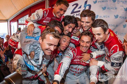 Sarthe Endurance Foto's prijsuitreiking