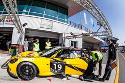 #19 V8 Racing Chevrolet Corvette C6R ZR1: Rick Abresch, Alex van 't Hoff, Wolf Nathan, Nicky Pastore