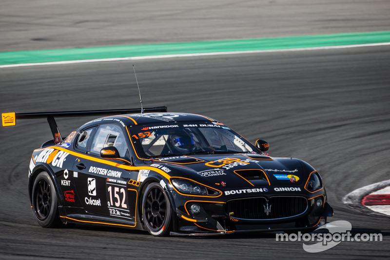 #152 Boutsen Ginion Racing, Maserati Gran Turismo: Renaud Kuppens, Éric Vaissière, Philippe Ulivieri, Daniel Waszczinski, Christophe de Fierlant