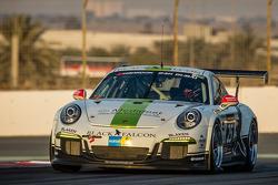 #25 Black Falcon, Porsche 991 Cup: Burkard Kaiser, Manuel Metzger, Christian Raubach