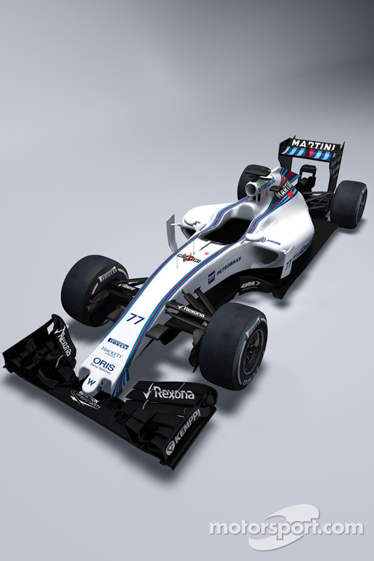 O novo Williams FW37