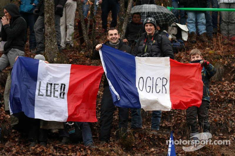 Sébastien Loeb und Sébastien Ogier, Fans