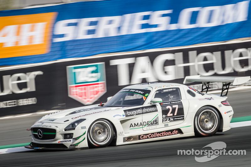 #27 Car Collection Motorsport Mercedes SLS AMG GT3: Tim Müller, Dirg Parhofer, Jürgen Krebs, Pierre