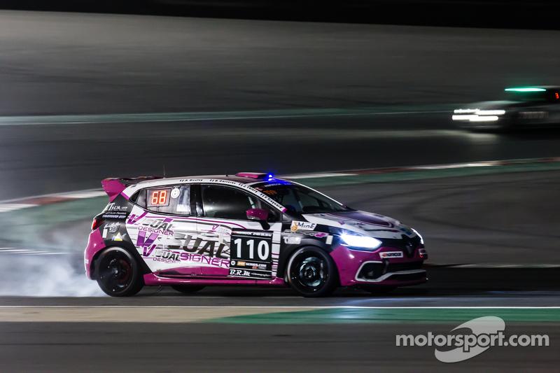 #110 Autosport GP, Renault Clio IV Cup: Benoit Carreras, Franck Traynard, Jérôme Thiery, Antoine Boulay