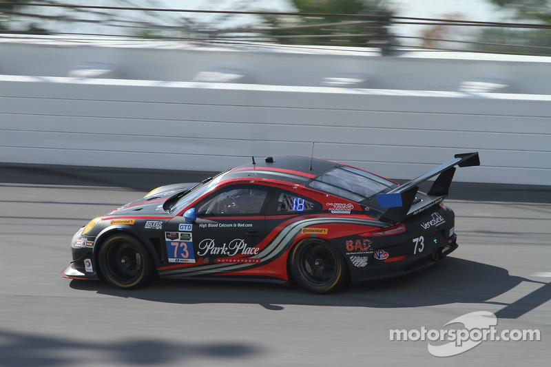 #73 Park Place Motorsports,保时捷911,美洲GT: Patrick Lindsey, Spencer Pumpelly, Jim Norman, David Ducote,