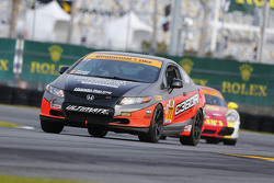 #77 Compass360 Racing, Subaru WRX STI: Benoit Theetge, Donald Theetge