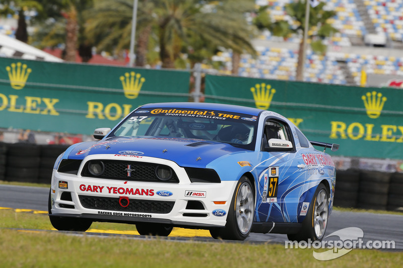 #57 Racers Edge Motorsports,野马Boss 302R: Michael Lira, Timmy Rivers