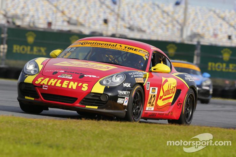 #42 Team Sahlen, Porsche Cayman: Wayne Nonnamaker, Jeff Segal