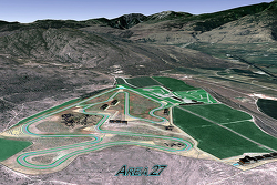 Area 27, a new track scheduled to be built in Osoyoos, British Columbia, Canada