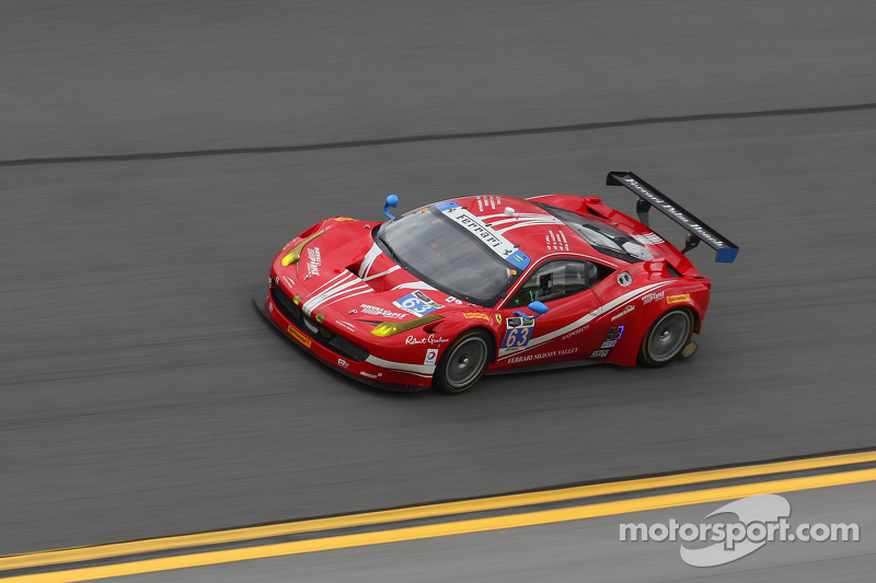 #63 Scuderia Corsa Ferrari 458 Italia: Bill Sweedler, Townsend Bell, Anthony Lazzaro, Jeff Segal