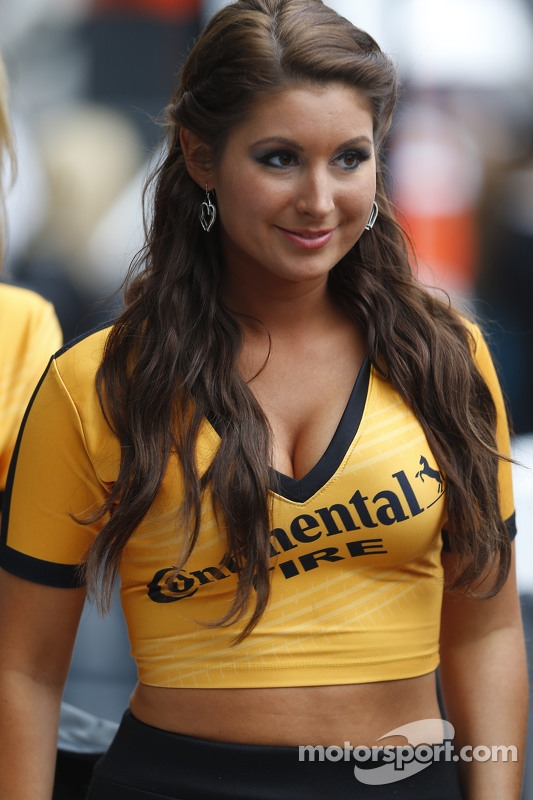 Lovely Continental girl