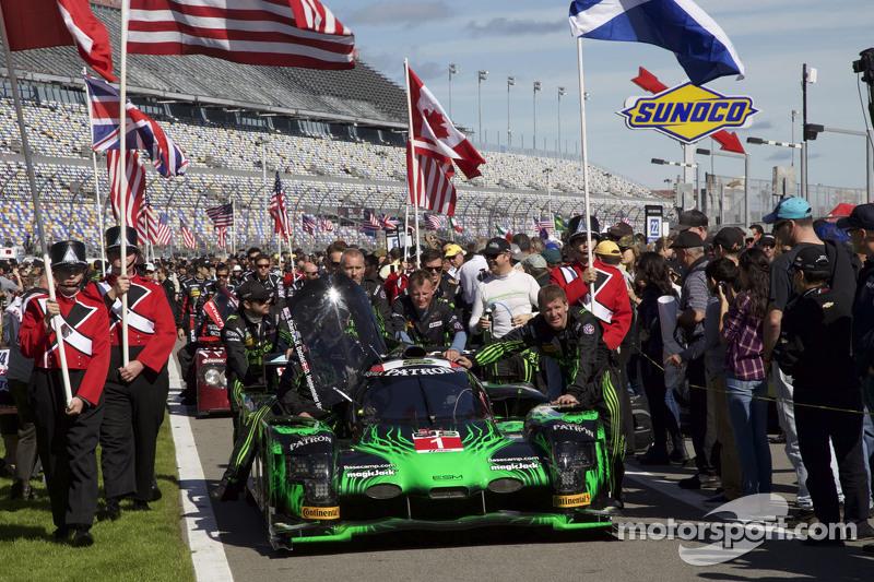 #1 Extreme Speed Motorsports, HPD ARX-04b Honda: Scott Sharp, Ryan Dalziel, David Heinemeier Hansson