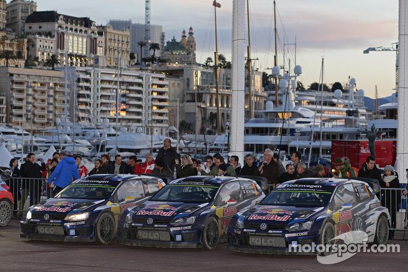 Dreifachsieg für Volkswagen Motorsport