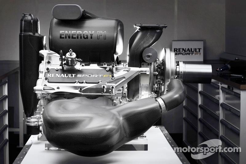 Renault-Motor für die Formel-1-Saison 2015