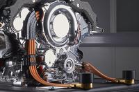 梅赛德斯AMG车队 F1 W06赛车引擎细节