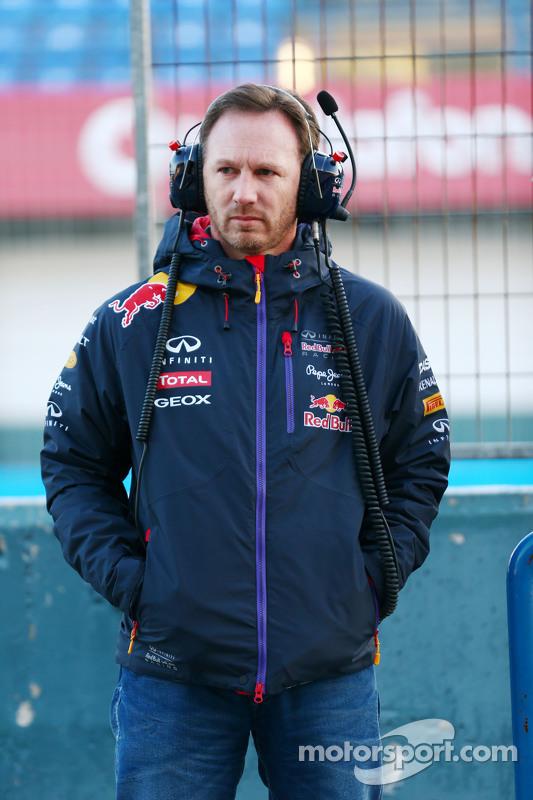 Christian Horner, Chefe principal da equipe Red Bull Racing