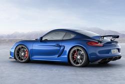La nuova Porsche Cayman GT4