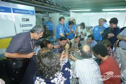 Renault F1 team CEO Patrick Faure