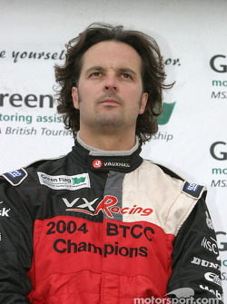 Podium: race winner Yvan Muller