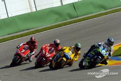 Sete Gibernau leads Max Biaggi