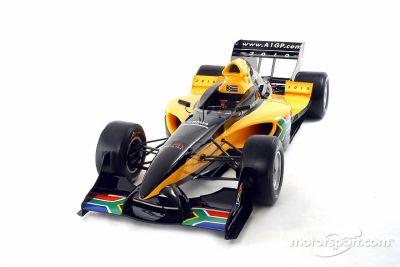 A1 GP South Africa launch, Johannesburg
