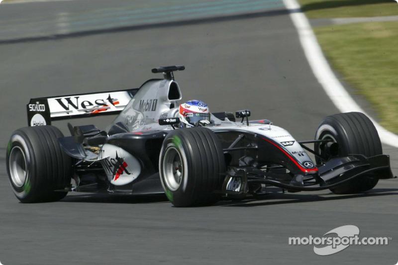 McLaren MP4-19B, à moteur Mercedes (2004)