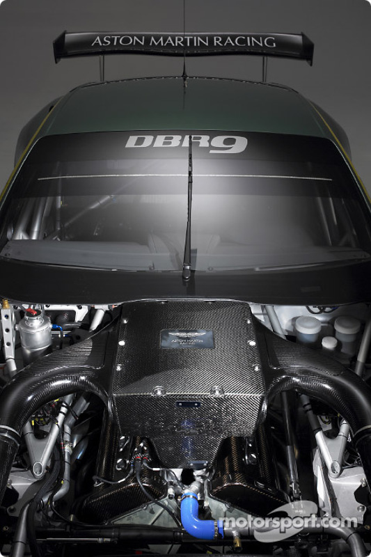 The New Aston Martin Racing Dbr9 Engine At Aston Martin Racing Dbr9