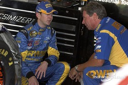Kurt Busch and crew chief Jimmy Fennig