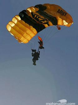 Golden Knights skydiver