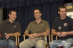 Press conference: Kurt Busch, Jimmie Johnson and Jeff Gordon
