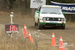 #15 - Gord Olsen and Todd Patola, 1992 VW Golf GTI, Grp 2