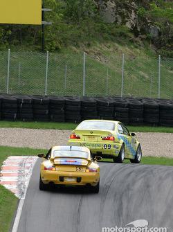 #09 Automatic Racing BMW M3: Jep Thornton, David Russell, #83 BGB Motorsports Porsche 996: Andy Brumbaugh, Michael McDowell